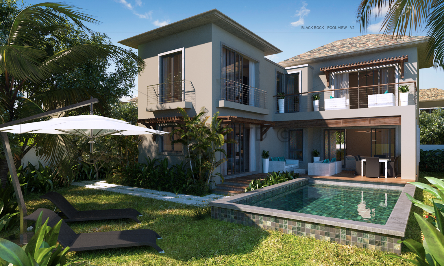 One Bedroom Apartment For Rent Superb Res Villa Black Rock Tamarin Buying Property