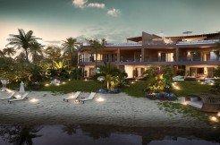 Modern Beachfront Apartment on Freehold Land